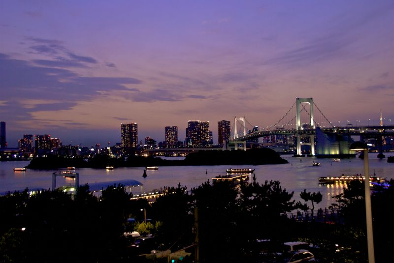 Rainbow Bridge, purple
