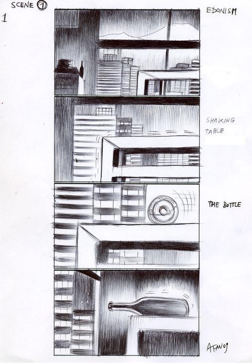 Storyboard scene 1-1